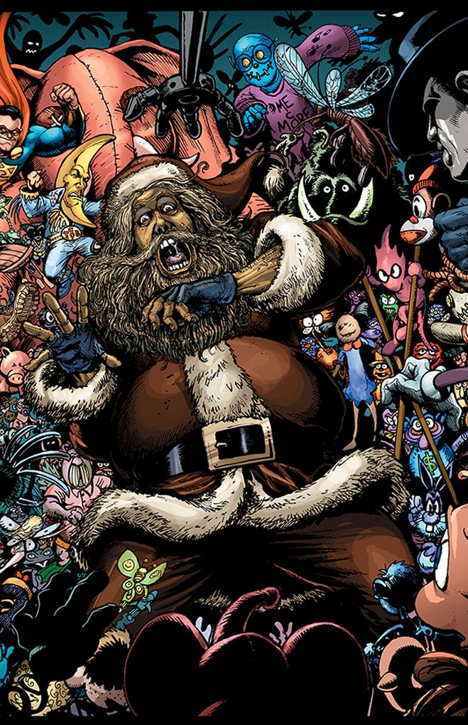 Happy Evil-Santa