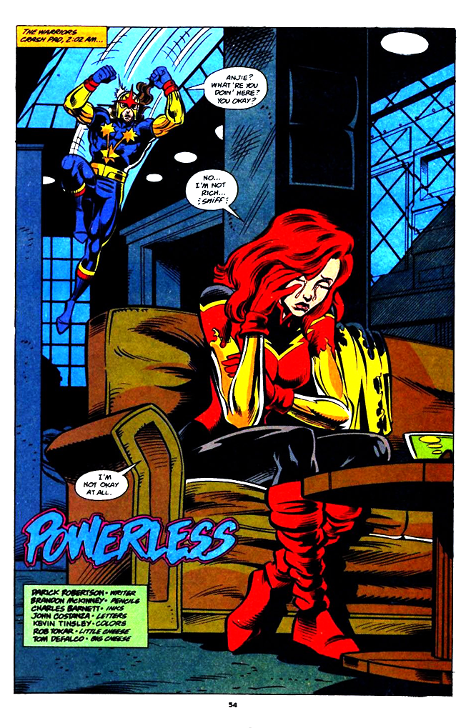 New Warriors Annual 4 Firestar -1