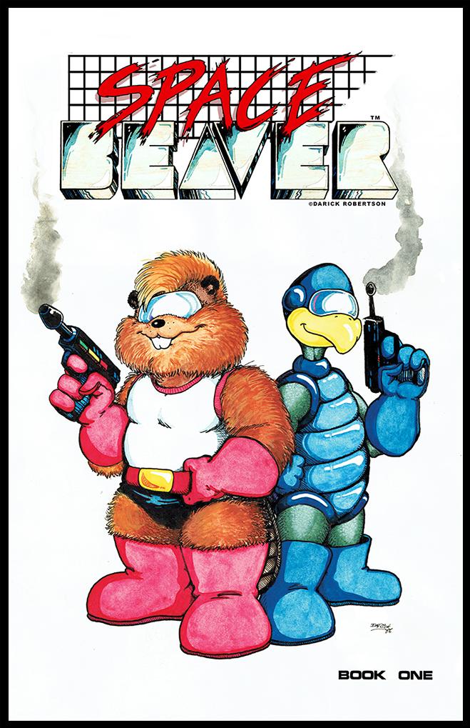 Space Beaver 01 COV ART